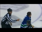 Boris Valabik vs Rick Rypien Dec 10, 2009 - Canucks TV feed