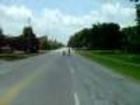 Motorcycle Cop Stunt Driveby