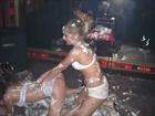 bikini psy girls dancing gangnam style in ibiza club 2012