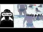 Italy (07/32) sexy black skimpy swimwear bikini speedo sunga Italian boy have fun with friends