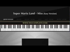 Super Mario Land - Miss [Easy Piano Tutorial]