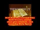 The Wisdom of Solomon - Entire Book (The Book of Wisdom) - Open Captioned