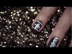 How To Get Christmas Nails | boohoo.com | Christmas Nail Art