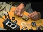 Mark Hama repairs Yashica Mat 124G (timelapse)