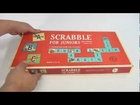 1964 Scrabble Junior 2nd Edition Vintage Board Game, Selchow & Righter Company