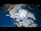 Summer Arctic Ice Hits Record Low