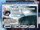 Crysis 2 serial key and Crack