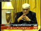 Asfandyar Wali Khan with Mazhar Abbas (Do Tok ARY 9-1-2011)