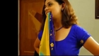 Bhavana Hot Saree Removal Video.