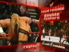 Women at Royal Rumble. Chyna and Beth Phoenix