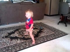 Baby dancing to LMFAO-Sexy & I Know It