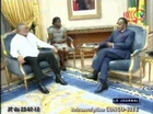 Denis Sassou N'Guesso reçoit l'ex-président du Ghana