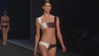 Brazil's bikini queen shows new swimwear collection